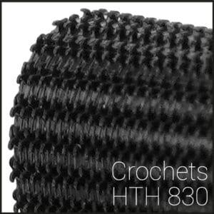 Crochets plastiques HTH 830 - la partie mâle