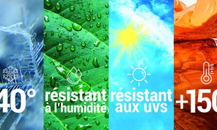 Auto-agrippant adhésif VELCRO® AT – Spécial extérieur – Résistance aux grandes amplitudes de températures !