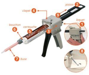 Mode d'emploi pistolet epx pour colles bi-composant by-pixcl.com
